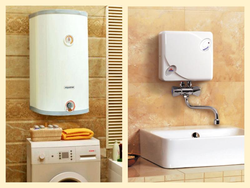 Экономим электричество: накопительные или проточно-накопительные водонагреватели?