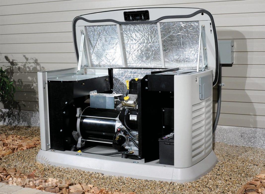 Газовый генератор с автозапуском