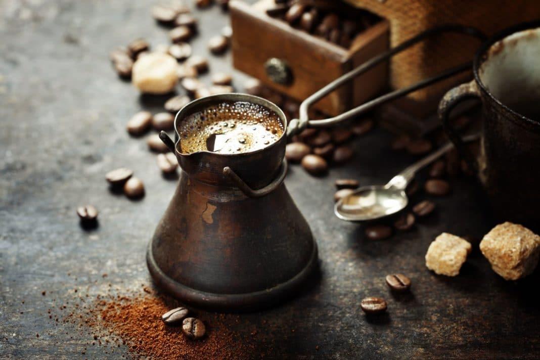 Кофе в турке на газу