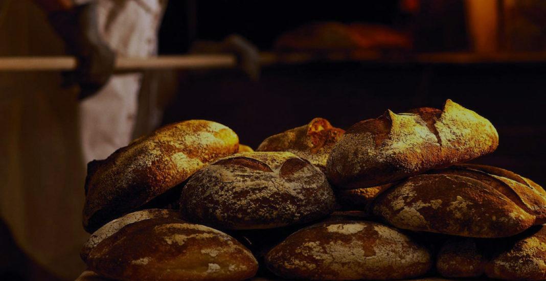 Хлеб в русской печи