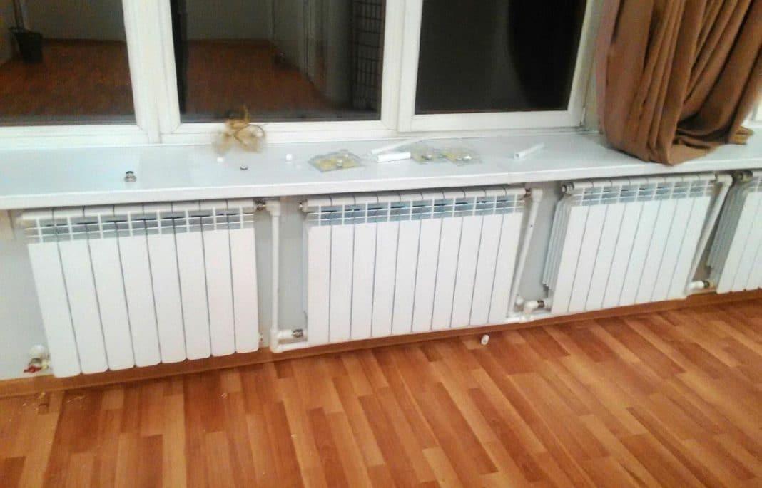 Как соединить радиаторы отопления