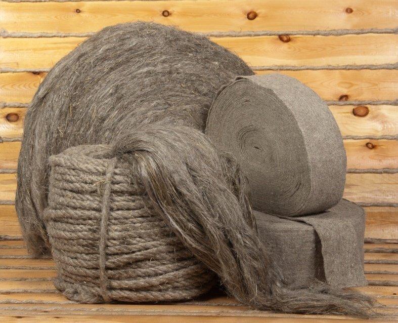 льняное и джутовое волокна