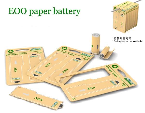 Бумажная батарейка 4