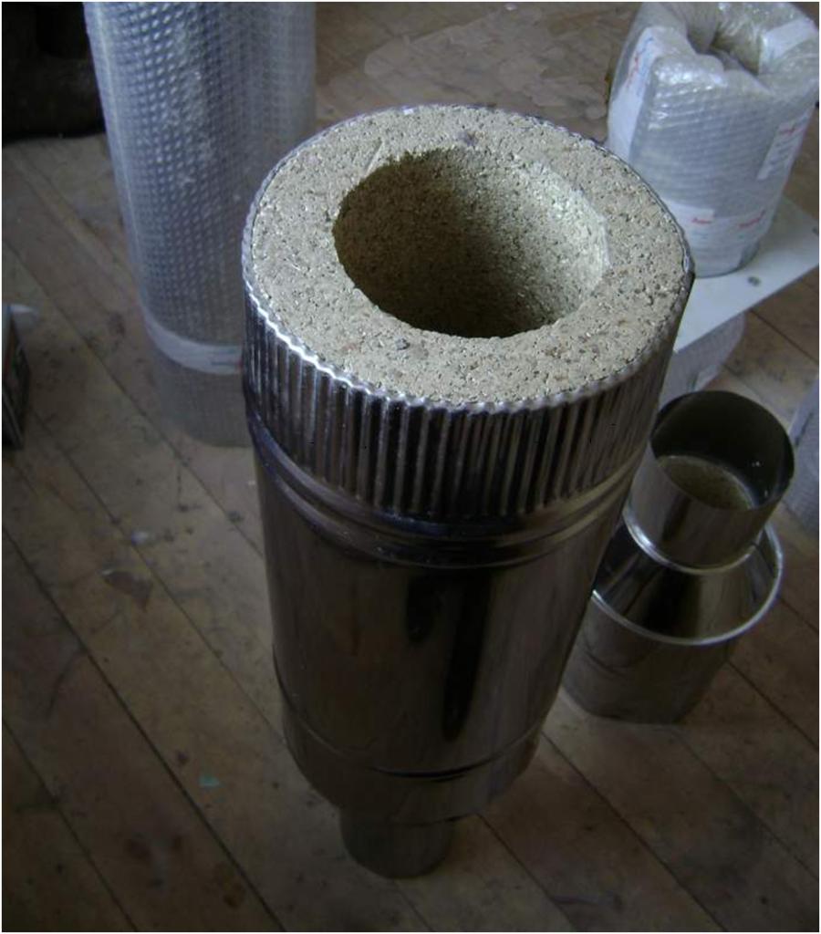 Вермикулитовые трубы для дымохода