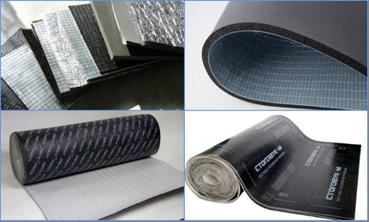 Звукоизоляторы на битумно-полимерной основе