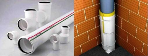 Звуковая изоляция при монтаже систем канализации