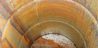 ржавчина в баке банной печи