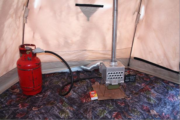 Печь в палатку – от простых до высокотехнологичных моделей