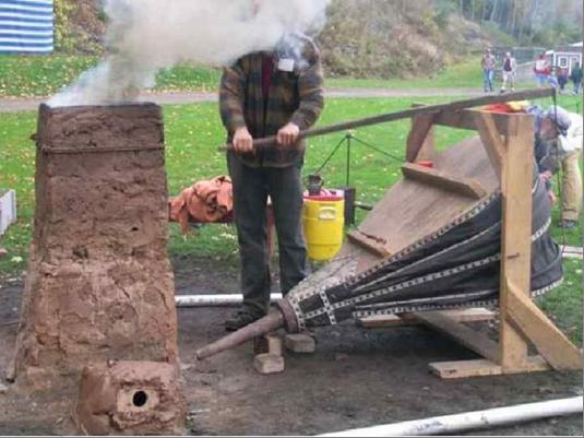 Доменная печь. Применяем для отопления частного дома