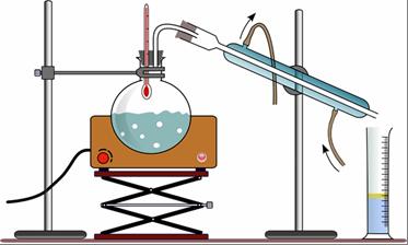 Получение дистиллированной воды термическим способом