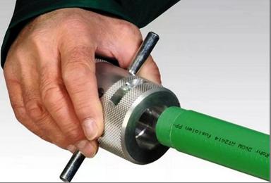 Шейвер для зачистки труб из полипропилена с внешним армированием