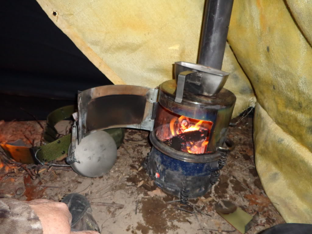 Печь в палатку – от простой до очень простой