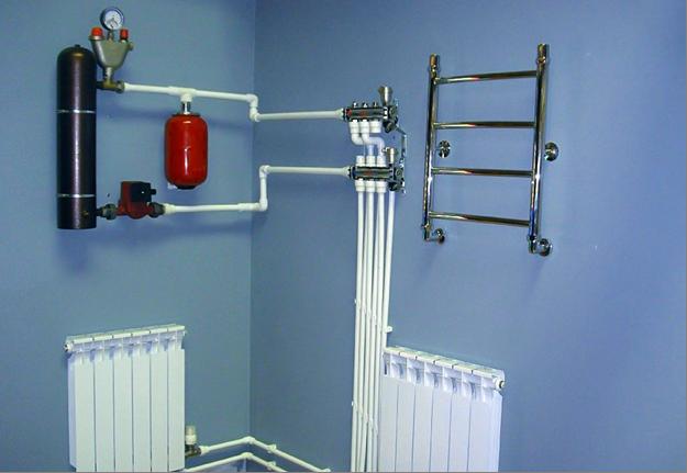 система отопления при помощи электрических котлов