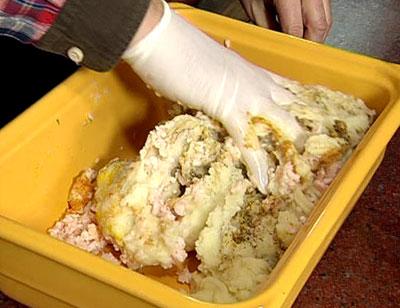 Картофельный фарш по рецепту