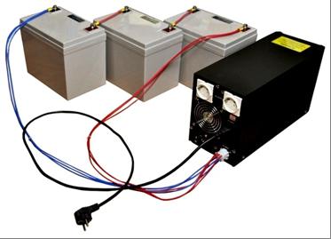 Параллельное соединение батарей