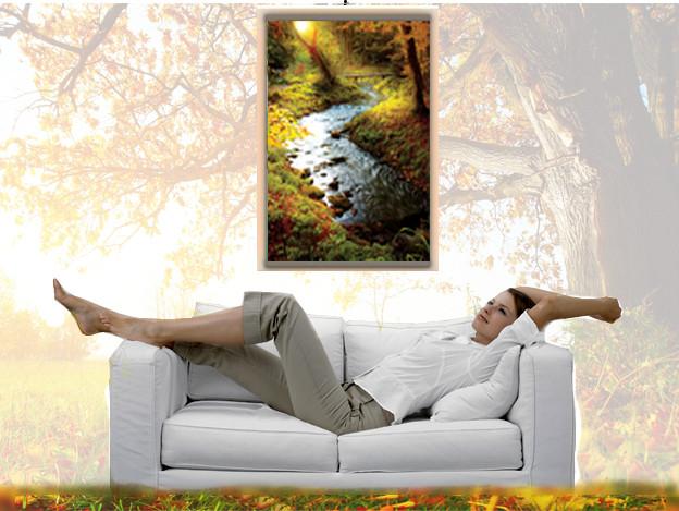 Картины, которые обогреют дом