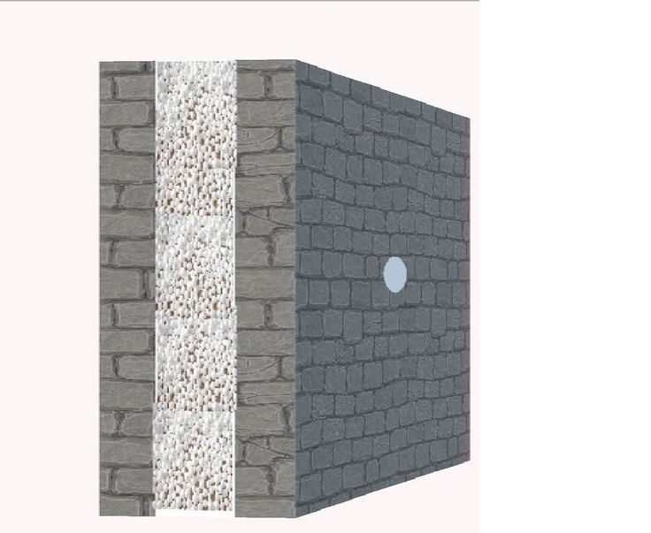 Особенности теплоизоляции стен из пенопластовой крошки