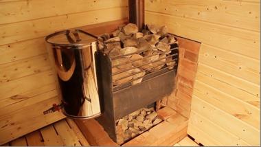 Ограждение для банной печи – назначение, обустройство и особенности установки