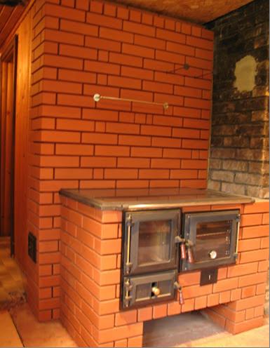 Кирпичная отопительно-варочная печь — основные характеристики