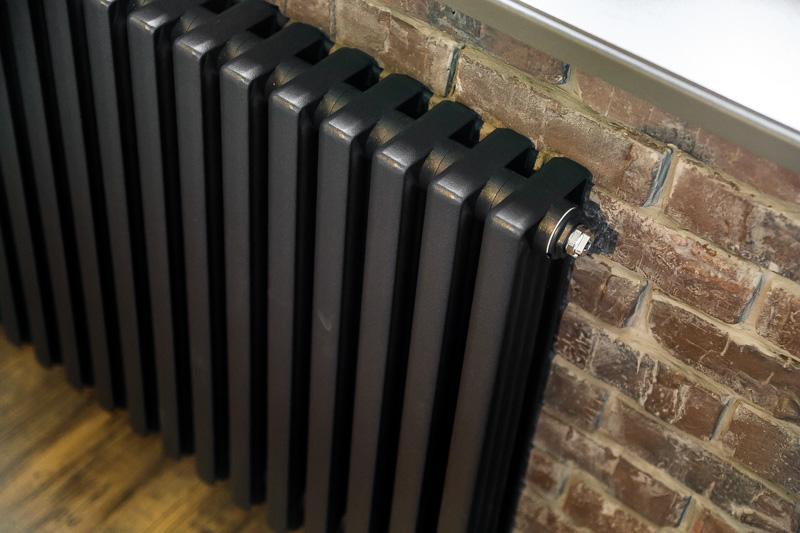Окрашивание радиатора в тёмный цвет