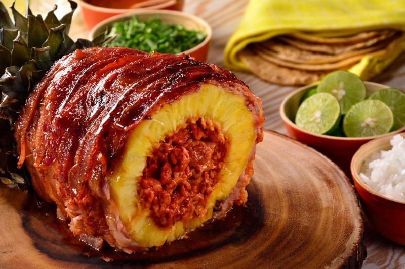 Хотите удивиться - приготовьте «Свинанас»: закуска на гриле с красивой подачей