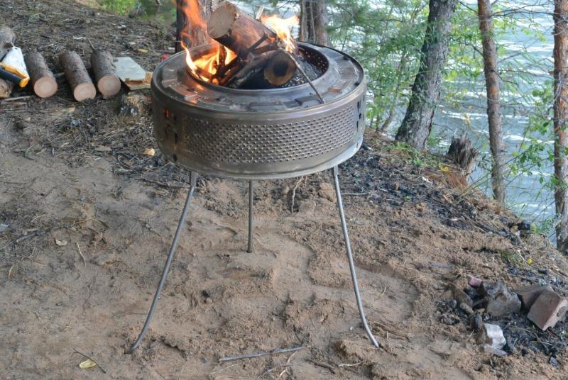 5 вещей на участке, из которых легко можно сделать жаровню или мангал