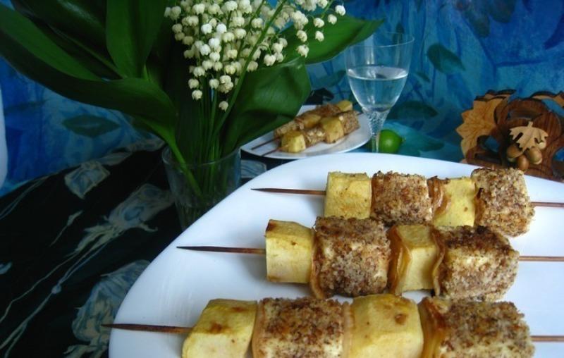 Просто объедение: 5 рецептов отменного шашлыка с яблоками