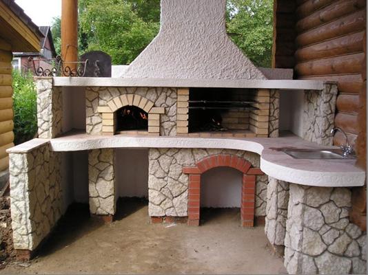 печь для летней кухни