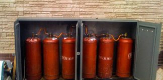 Отопление газовыми баллонами