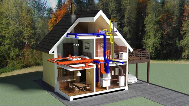 Комфорт в доме – это наличие проекта система отопления