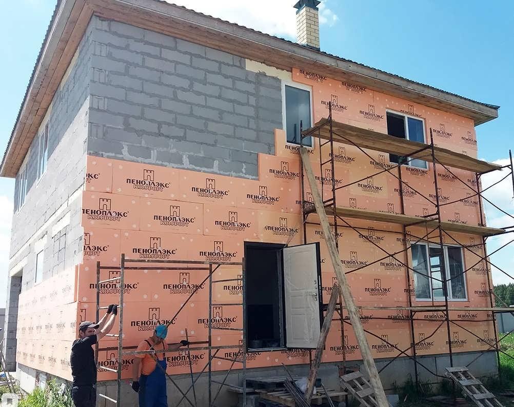 Каким материалом утеплять стены снаружи дома