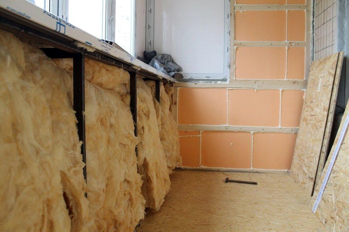 5 секретов утепления лоджии изнутри в панельном доме самостоятельно