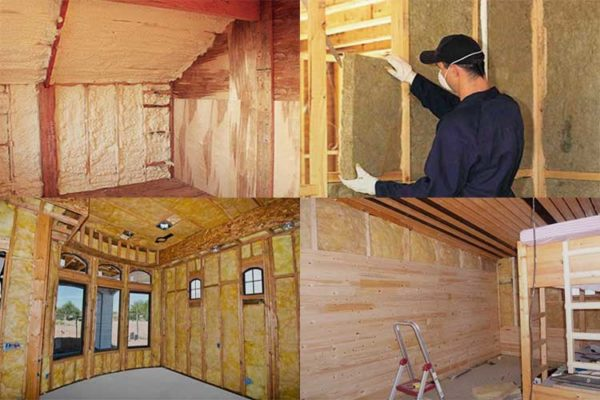 3 лучших утеплителя для деревянного дома