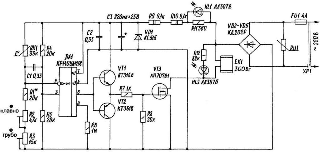 Возможно ли сделать регулятор температуры для котла отопления своими руками