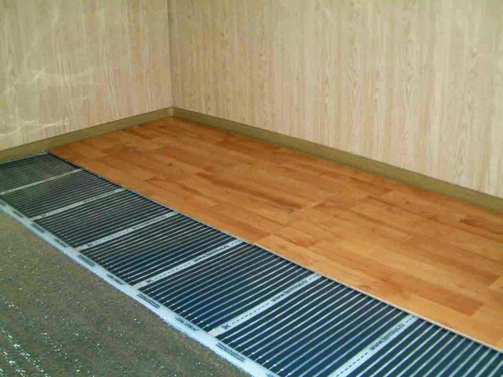 Можно ли устанавливать инфракрасный тёплый пол под ламинат