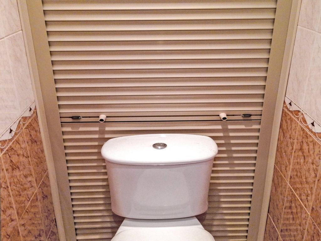 Как аккуратно закрыть трубы в туалете