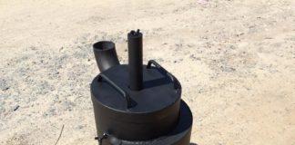 Печь Бубафоня своими руками из газового баллона