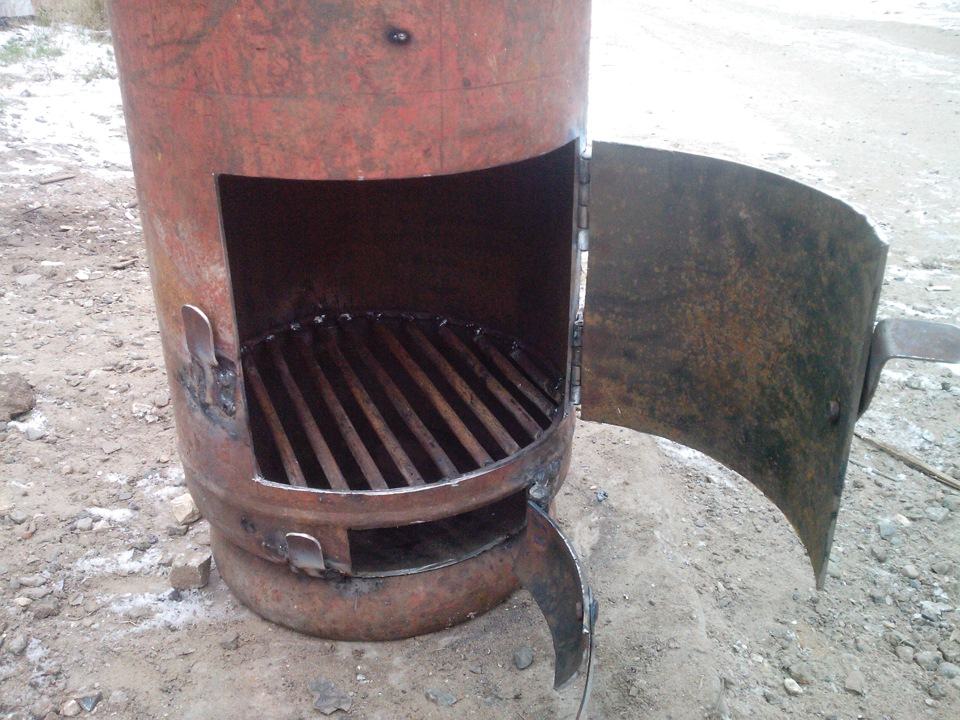 печь-буржуйка