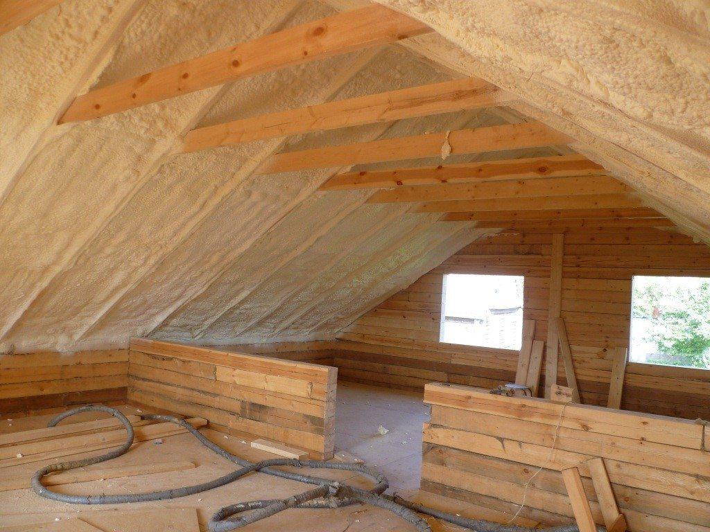 Подготовка крыши к утеплению
