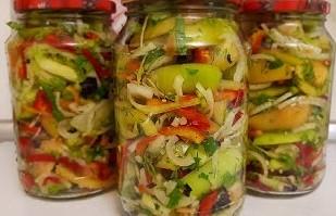 салат в банке простой рецепт