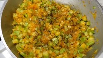 перчим и солим овощи