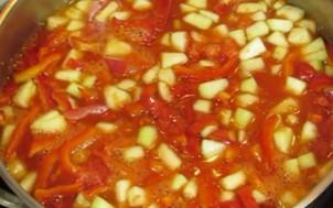 смесь овощей